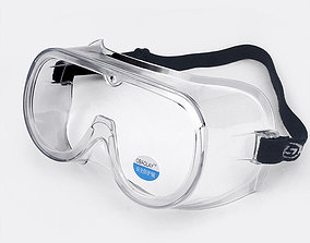 realtime Medical Goggles I PBR Model 3D model