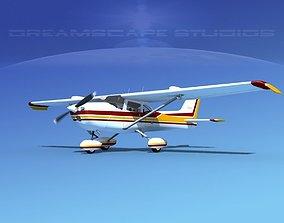 3D Cessna 172 Skyhawk STOL V03