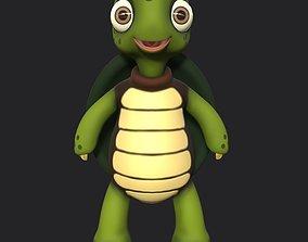 Cute Little Turtle 3d model game-ready