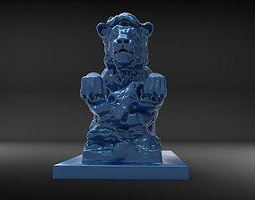 3D printable model Lion sculpture-2 print