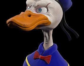 human 3D model Donald Duck