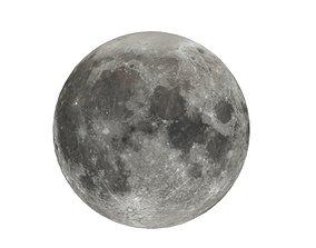 3D model Moon Lowpoly