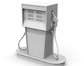Vintage Gas Pump pump 3D printable model