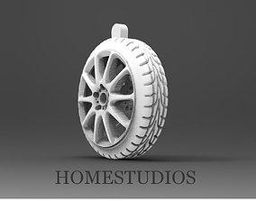 Pendant wheel 3D print model