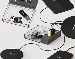 Office accesories Set 3D