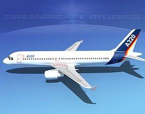 3D model A320 LP Airbus 1