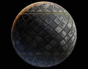 Ornamental wall materials 3D asset