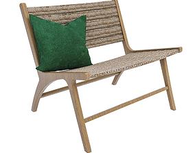 3D Rattan Chair woven