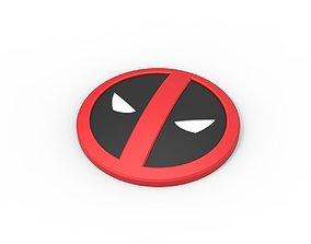 symbol 3D printable Deadpool emblem