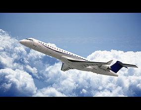 3D Bombardier CRJ 900