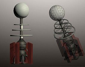 Tesla Coil Tower 3D model