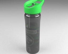 Sports Water Bottle 3D model game-ready