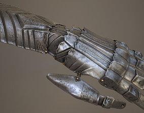 Ornamented Gauntlet 3D model
