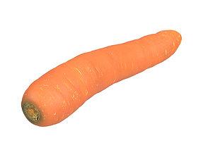 carot Photorealistic Carrot 3D Scan