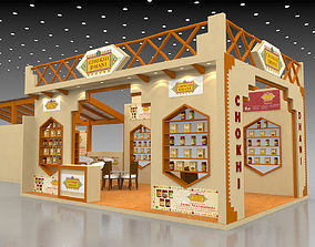 3D model Exhibition Stand exhibitionstand