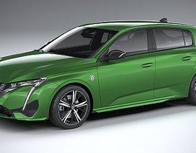 3D model Peugeot 308 2022