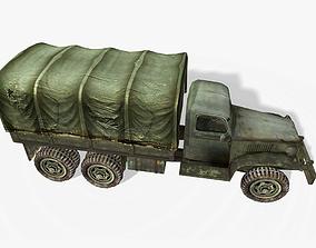 3D asset GMC CCKW 353 Truck