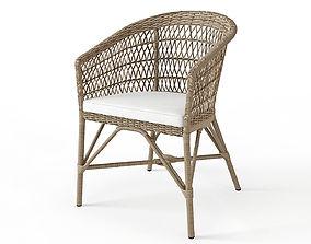 3D model SIKA DESIGN Emma chair beach