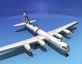 Boeing B-29 Superfortress USAF 3D