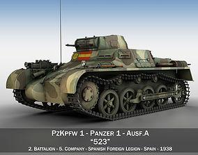 3D Panzer 1 - PzKpfw 1A - Spainish Civil War