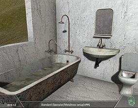 Bath room pack 3D model