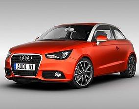Audi A1 2012 3D
