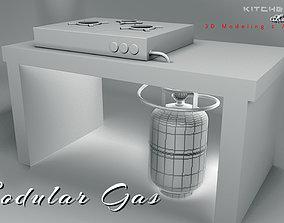 3D animationodisha OPEN KITCHEN