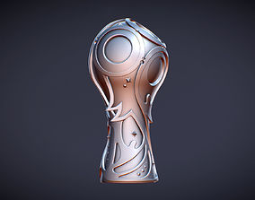 Fifa 2018 WorldCup Logo Stl 3d model