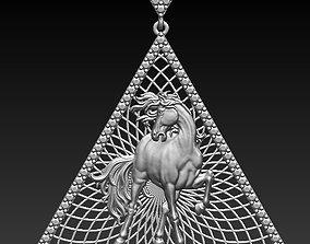 3D print model hours pendant