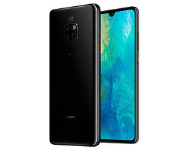 HUAWEI MATE 20 light black customizable 3D print model