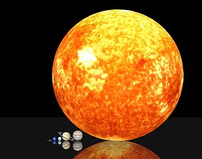 realtime Solar system 3D asset package