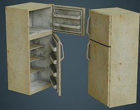 Refrigerator 4B 3D asset