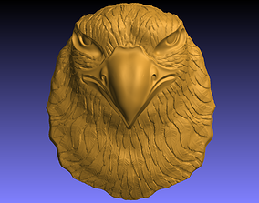 3D printable model printable Eagle head