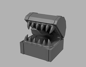 Chest Mimic Figurine 3D print model
