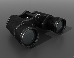 3D model wwii Binocular