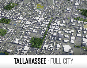 Tallahassee - city and surroundings 3D asset