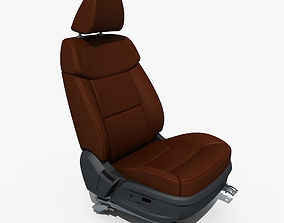 seats Car Seat Structure 3D