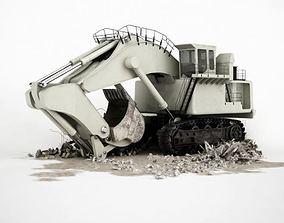 Excavator 3D model