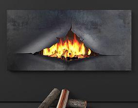 Omegafocus fireplace Focus 3D