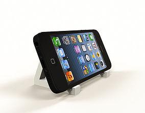 Triangular phone holder 3D printable model