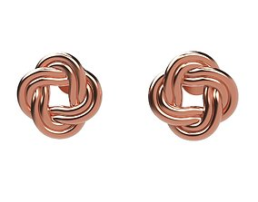 Stud A-System Earring Rope 3D printable model