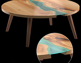 3D model Round Table River Collection