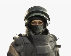 Russian Spetsnaz Soldier 3D asset