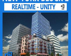 3D model NYC Block 2 Unity