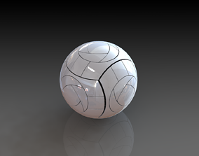 Volley Ball 3D Printed