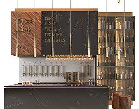 beer bar - restaurant 3D