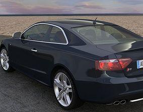 3D animated Audi S5