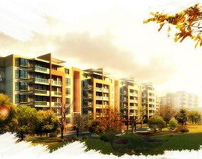 3D model Elite Apartment Complex