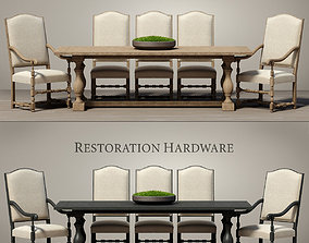dining 3D DINING ROOM SET