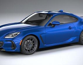 Subaru BRZ 2022 3D model brz